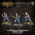 [Cygnar] - Stormsmith Grenadiers Unit