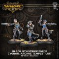 [Cygnar] - Black 13th Strike Force Arcane Tempest Unit (resculpt)
