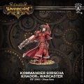 [Khador] - Kommander Sorscha Warcaster