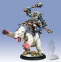 Trollbloods: Borka, Vengeance of the Rimeshaws Epic Cavalry Warlock (resin & metal) BOX