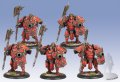 [Khador Unit] - Man-O-War Shocktrooper(5) プラ製