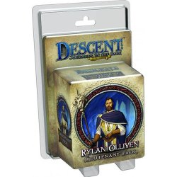 画像1: Descent: Journeys in the Dark (2nd Ed) - Rylan Olliven Lieutenant Pack【メーカー生産待ち】