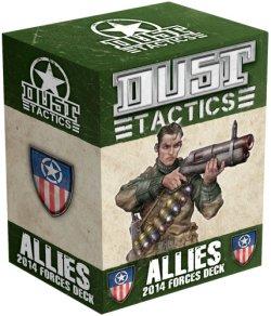 画像1: Dust Tactics: Allies Tactics Cards