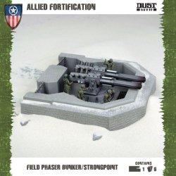画像1: Dust Tactics - Allies: Field Phaser Bunker/Strongpoint (Allied Foritification)