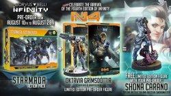 画像1: インフィニティ:  N4 Bundle: Core Rulebook (w/Oktavia) + O-12 Starmada Action Pack + Shona Carano Exclusive