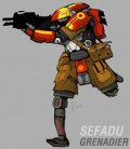 MERCS Sefadu - Grenadier (1) (Preorder)