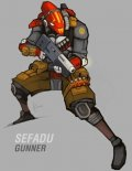 MERCS Sefadu - Gunner (1) (Preorder)