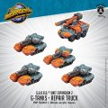 Monsterpocalypse G-Tanks & Repair Truck: G.U.A.R.D. Unit (resin)