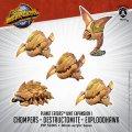 Monsterpocalypse Chompers, Destructomite & Explodohawk Planet Eaters Unit (resin)