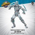 Monsterpocalypse Zor-Maxim Shadow Sun Syndicate Monster (metal/resin)