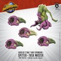 Monsterpocalypse Spitter & Task Master Lords of Cthul Unit (metal/resin)