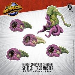 画像1: Monsterpocalypse Spitter & Task Master Lords of Cthul Unit (metal/resin)