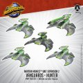 Monsterpocalypse Vanguard & Hunter - Martian Menace Units (resin)