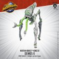 Monsterpocalypse Deimos-9 Martian Menace Monster (resin)