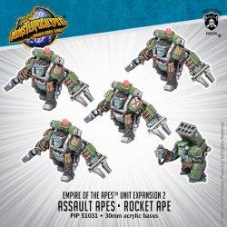 画像1: Monsterpocalypse Assault Apes & Rocket Ape Empire of the Apes Units (metal)