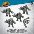 Monsterpocalypse Ape Gunners & Ape Infiltrator Empire of the Apes Units (metal)