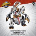 Monsterpocalypse: Gorghadratron – Uber Corp International Monster (metal/resin)