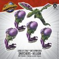 Monsterpocalypse: Snatchers, Elite Snatcher, Hellion - Lords of Cthul Units (metal)