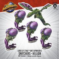 画像1: Monsterpocalypse: Snatchers, Elite Snatcher, Hellion - Lords of Cthul Units (metal)