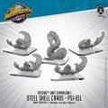 Monsterpocalypse: Steel Shell Crabs & Psi-Eel – Triton Unit (metal)