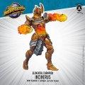 Monsterpocalypse: Incinerus – Elemental Champions Monster (metal/resin)