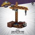 Monsterpocalypse: Construction Yard (metal/resin)