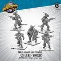 Monsterpocalypse: Fusiliers, Elite Fusilier, Warder – Draken Armada Unit (metal/resin)