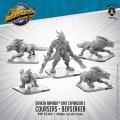 MMonsterpocalypse: Draken Armada Unit - Coursers & Beserker Unit (metal)