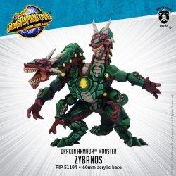画像1:  Monsterpocalypse: Zybanos – Draken Armada Monster (resin)