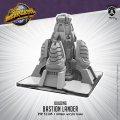 Monsterpocalypse: Bastion Lander – Building (resin)