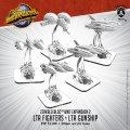 Monsterpocalypse: LTA Fighters and LTA Gunship – Zerkalo Bloc Unit (metal/resin)