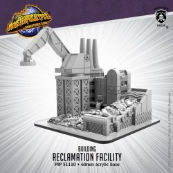 画像1:  Monsterpocalypse:  Building - Reclamation Facility
