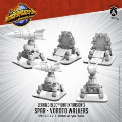 画像1:  Monsterpocalypse:  Zerkalo Bloc Unit - SPAR & Vorota Walker