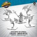 Monsterpocalypse: Stalkers and Draken Mystic – Draken Armada Unit (metal)