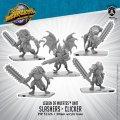 Monsterpocalypse: Slashers and Clicker – Legion of Mutates Unit (metal)