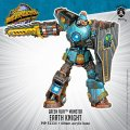 Monsterpocalypse: Earth Knight  Green Fury Monster (metal/resin)