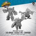 Monsterpocalypse: Carnidon, Exo-Armor, and Assault Ape – Protectors Alternate Elite Units
