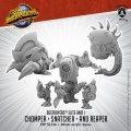 Monsterpocalypse: Chomper, Snatcher, and Reaper – Destroyers Alternate Elite Units