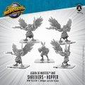 Monsterpocalypse: Shriekers and Hoppers – Legion of Mutates Unit (metal)
