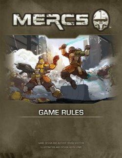 画像1: MERCS Rulebook マークス ルールブック  (英語ハードカバー)
