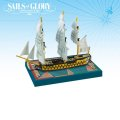 Sails of Glory - French Commerce de Bordeaux 1784 S.o.L. Ship Pack