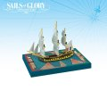 Sails of Glory - French Embuscade 1798 Frigate Ship Pack