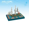 Sails of Glory - British HMS Cleopatra 1779 Frigate Ship Pack