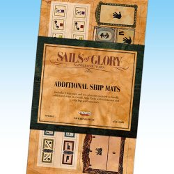 画像1: Sails of Glory - Additional Ship Mats