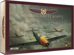 画像1: ブラッド・レッド・スカイ[Blood Red Skies] :ドイツ・メッサーシュミット・BF109 E ・スカッドロン6機プラセット
