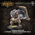 [Cygnar] - Trench Buster Solo (resin & white metal)