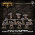 [Cygnar] - Trencher Long Gunners Unit and Command Attachment (resin/metal) BOX 2017年10月25日発売