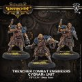 [Cygnar] - Trencher Combat Engineers Unit (resin/metal) 2017年11月発売