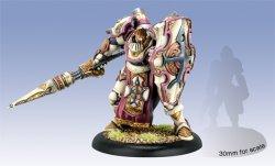 画像1: [Menoth] - Anson Durst, Rock of the Faith Paladin Warcaster (resin & white metal)