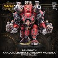 [Khador] - Behemoth Character Heavy Warjack (white metal & resin) BOX